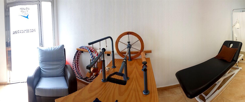 Sala de Fisioterapia AFA San Paulino Barbate