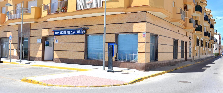 Centro Asociación Alzheimer San Paulino Barbate Cádiz