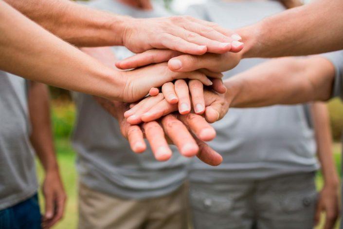 Voluntarios enfermos de alzheimer AFA San Paulino Barbate