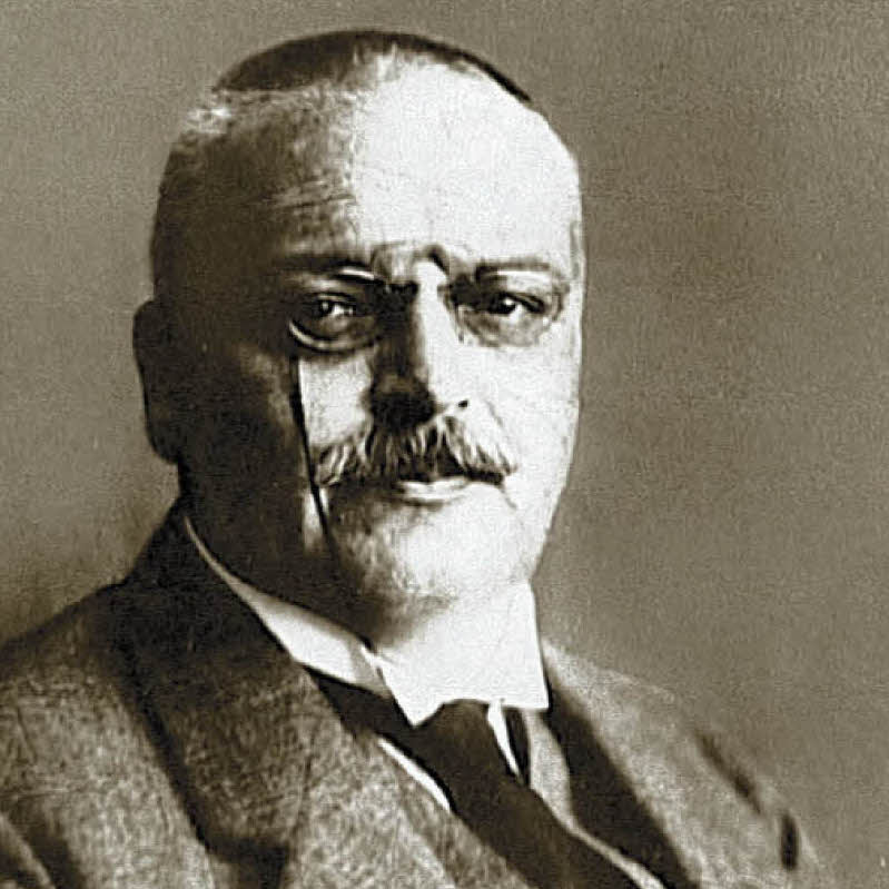 Aloysius Alois Alzheimer (1864-1915) psiquiatra y neurólogo alemán que identificó por primera vez los síntomas del Alzheimer